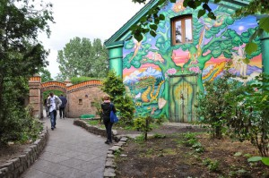 La seule photo de Christiania. Photo interdite à l'interieur