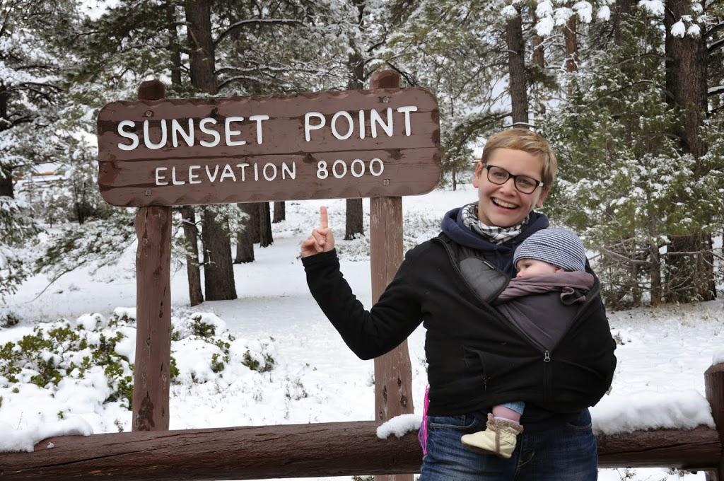 Sunset Point : un peu moins de 2500 m