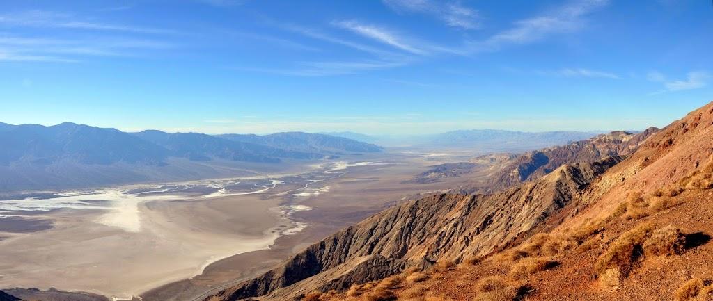 Dantes view : vue imprenable sur Bad water