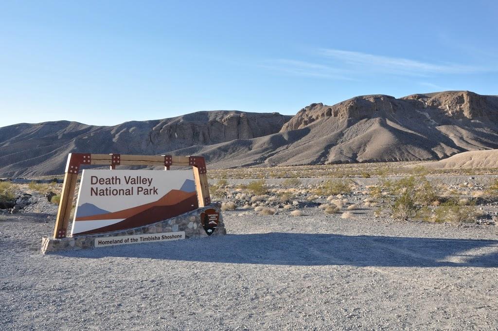 Entrée de la Death Valley