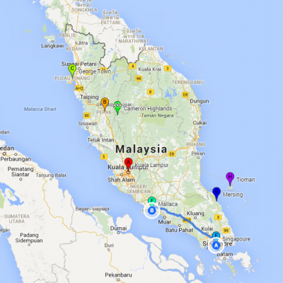 Malacca-Singapour
