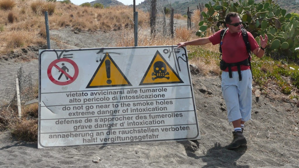 Et oui, c'est hyper dangereux ce qu'on fait !