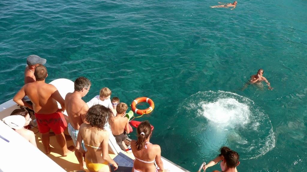 Baignade en pleine mer... un vrai bonheur !
